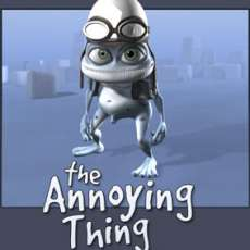 The Crazy Frog Toy