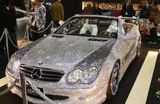 Diamond-Covered Mercedes SL