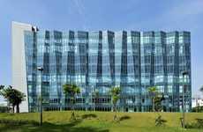 Folding Glass Buildings