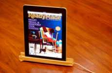 DIY Eco Tablet Holders