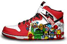 Marvelous Superhero Kicks