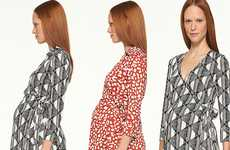 Playful Pattern Maternity Clothing
