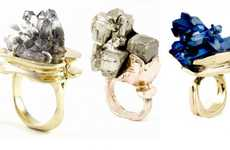 Raw Gem Rings
