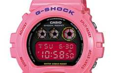 Pretty Pink Timepieces