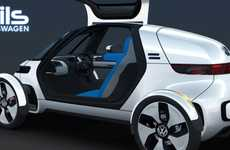 Futuristic Pod Cars