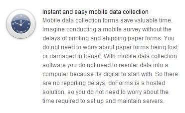 mobile data collection software