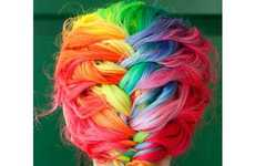 50 Multicolored Hairdos
