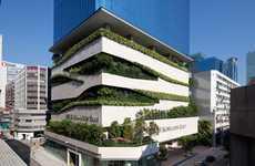 Zig-Zagging Green Buildings