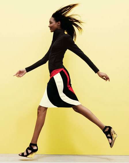 Jourdan Dunn for Neiman Marcus Resort 2011