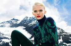 Sizzling Ski Alps Shoots