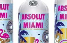 Palm Tree-Adorned Beverages
