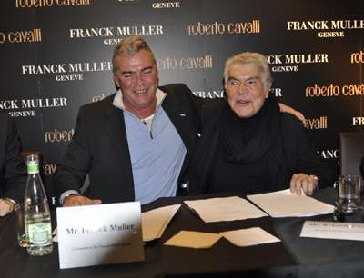 roberto cavalli and franck muller group