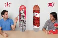 AIDS-Battling Skateboards