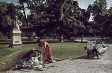 Litter-Hiding Photography