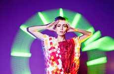 Prismatic Neon Photography