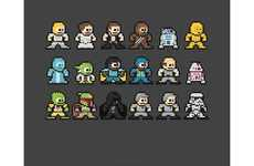 100 Examples of Pixel Art