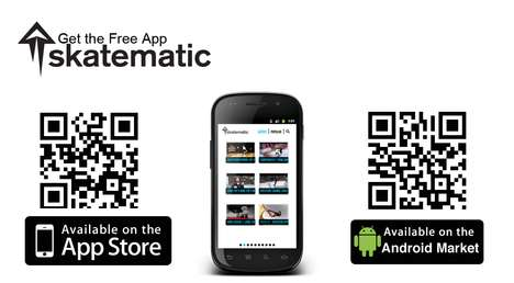 skatematic skateboarding iphone app