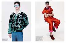 80s Revival Menswear Shoots