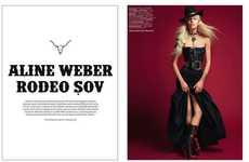 Bohemian Cowgirl Editorials
