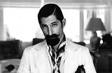 Mustached Jet-Setter Pictorials