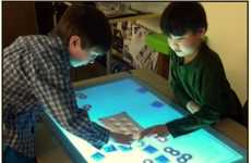 Affordable Touchscreen Tabletops
