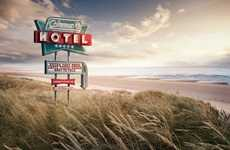 Motel-Mimicking Camping Ads
