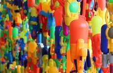 Super Soaker Sculptures