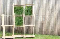 Slatted Herbage Storage