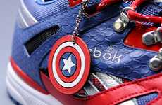 Comic Book-Themed Kicks