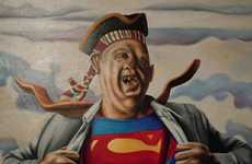 Absurdist Pop Culture Paintings