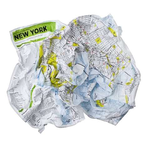 Deliberately Crushed Cartography