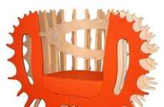 Eccentric Wildlife-Inspired Chairs