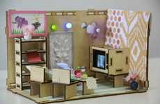 Tech-Inspired Dollhouses
