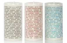 Wordy Wax Luminaries