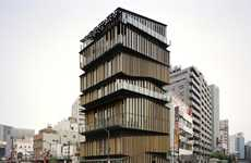 Layered Slat Facades