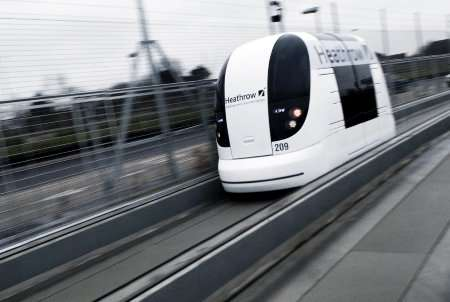 Driverless Public Transportation Pods