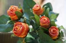 DIY Bacon Roses