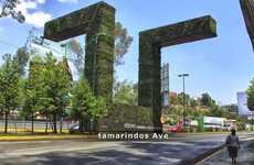 Auto-Branded Vertical Gardens