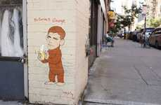 Celebrity Spoof Graffiti