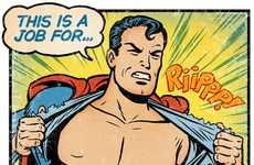 Costumeless Comic Book Heroes