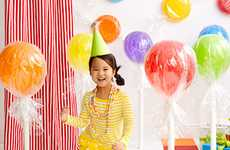 DIY Jumbo Lollipop Decorations