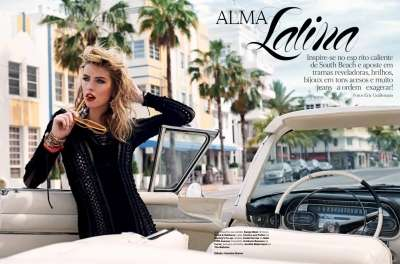 Alma Latina editorial for Vogue Brazil