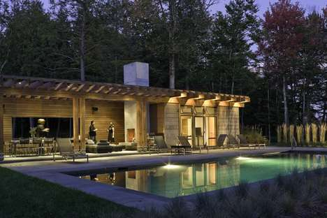 Poolhouse by Michael Minadeo + Partners