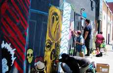 Graffiti-Based Youth Businesses