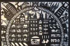 Storytelling Paper Cityscapes