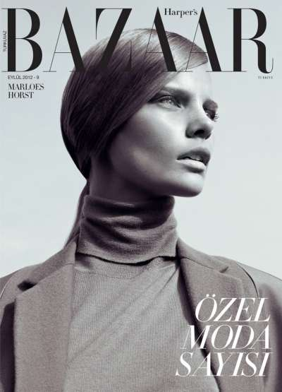 Marloes Horst for Harper's Bazaar Turkey