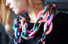 Shackle-Inspired Scarves