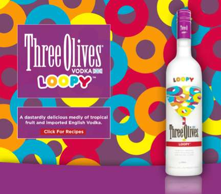 Three Olive Loopy Vodka