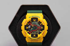 Vibrant Rasta Timepieces