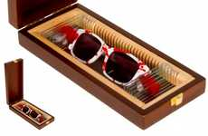 Blood-Splattered Sunglasses